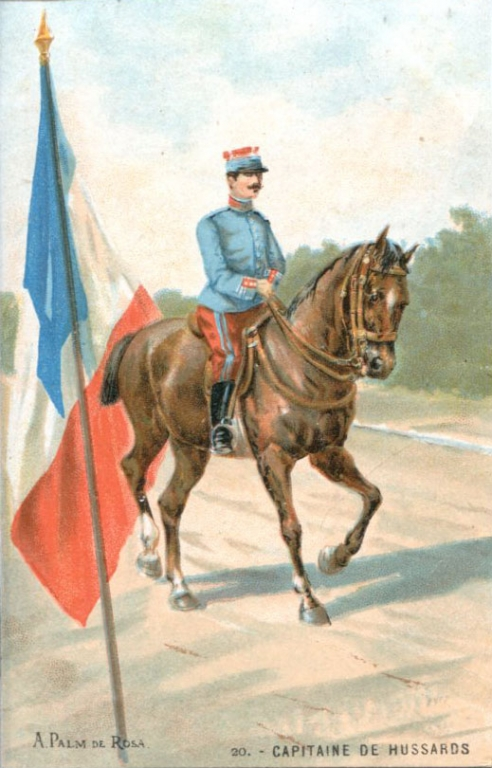 20 - Capitaine de Hussards