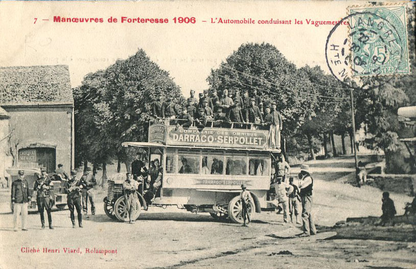 Automobile des vaguemestres